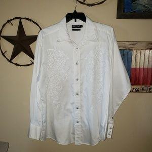 Panhandle White Men's Shirt